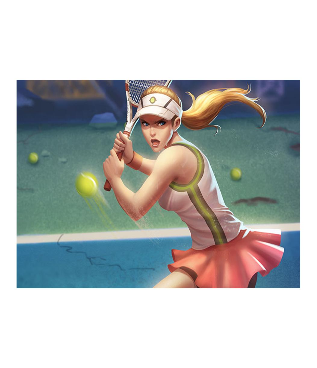 Tennis Player - Kerri Kane