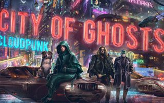City Of Ghosts Titlepage